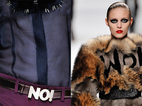 More Fashion, Viktor and Rolf, type, fonts on clothes