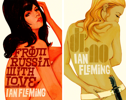 James Bond book covers 3