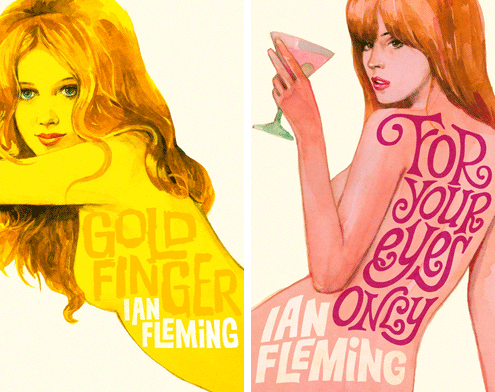 James Bond book covers 4