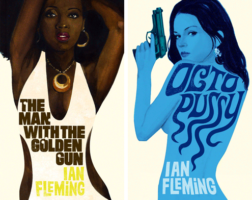 James Bond book covers 7