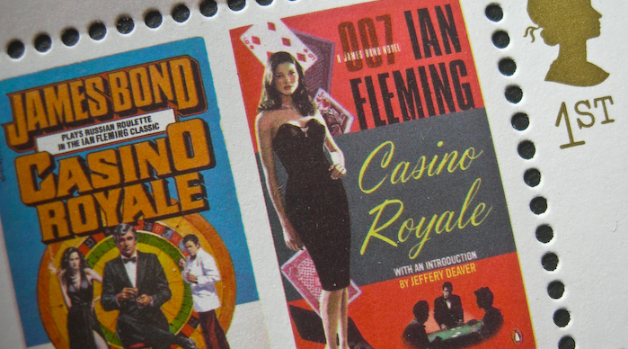Royal Mail Stamps James Bond Casino Royale