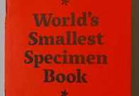 The World's Smallest Specimen Book Cover