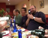 Dinner with T. Phinney, G. Unger, and More