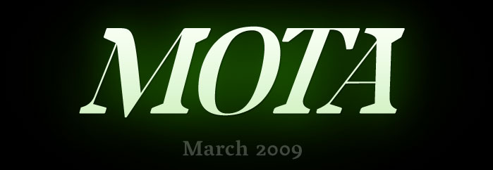 Mota - Coming in March 2009