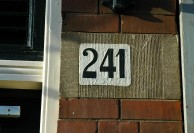 Den Haag House Number 241