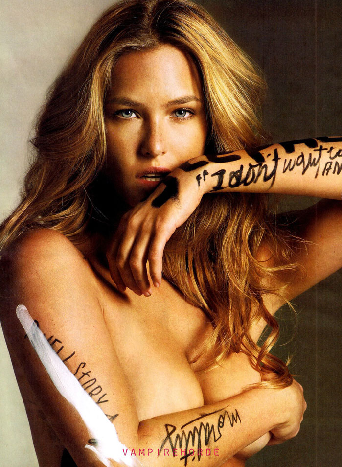 Esquire July 2009 - Bar Refaeli sexy type trends