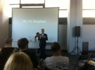 Stephen Coles at Berlin Creative Mornings