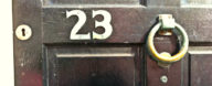 Brighton House Numbers