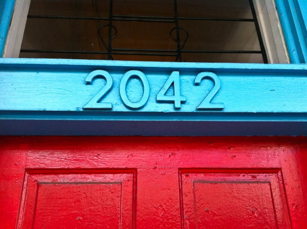 New Orleans House Number 2042
