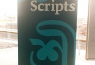 World Scripts Exhibition Banner