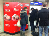 I wonder what @nicksherman would think about this pizza vending machine in the train station