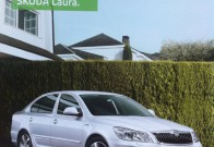 "Just discovered that the Škoda Octavia is called ""Laura"" in India"