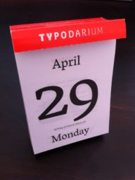 Happy Vesper day in Typodarium