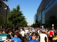 Starting in a minute #velothon