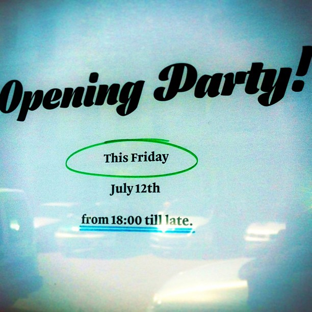 Mastering Type 13 Opening Party this Friday. It's...