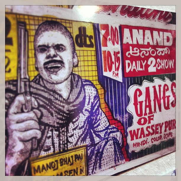 Handmade Gangs of Wassey Pur movie poster from...