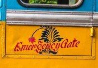 Kolkata Bus Emergency Gate