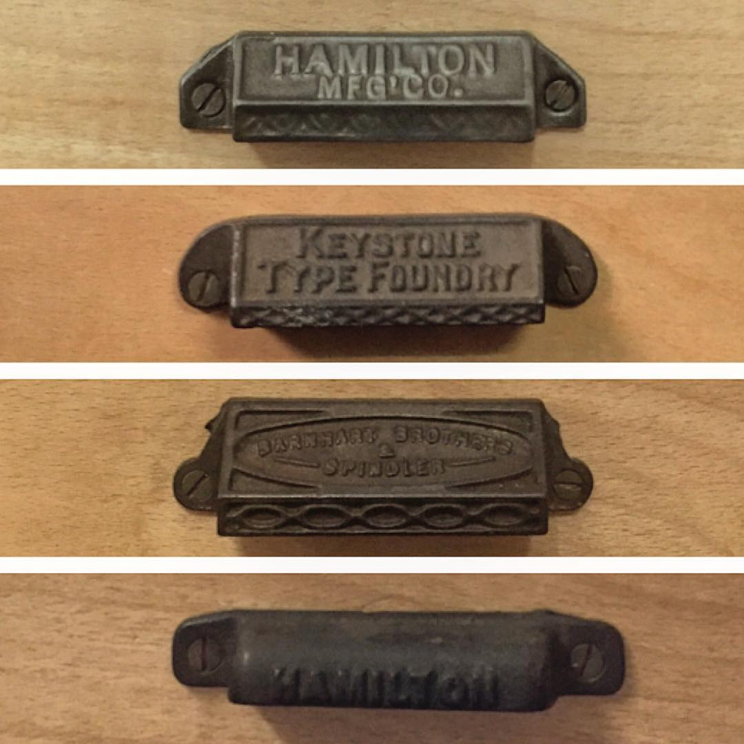 Upgraded our desks with these great vintage type...