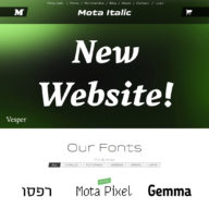 Mota Italic Website Redesign