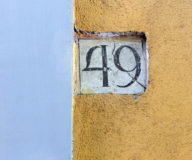 Napoli House Numbers
