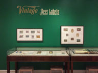 Vintage Wine, Beer, & Spirits Label Exhibition in SF